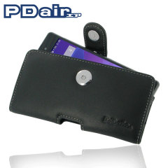 PDair Sony Xperia Z2 Horizontal Leather Pouch Case - Black