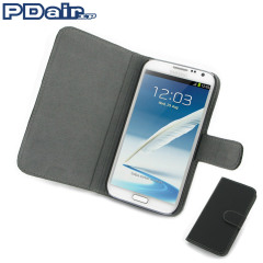 PDair Ultra-Thin Leather Book Case for Samsung Galaxy Note 2