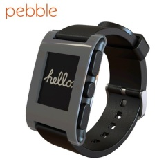 Pebble Smartwatch for iOS and Android Devices - Grey