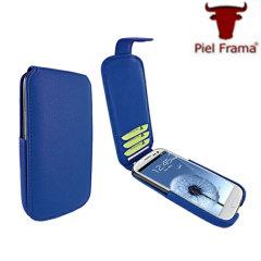 Piel Frama Hybrid For Samsung Galaxy S3 - Blue