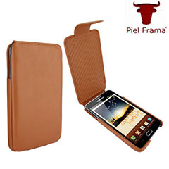 Piel Frama iMagnum For Samsung Galaxy Note - Tan