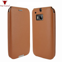Piel Frama iMagnum HTC One M8 Leather Flip Case - Tan