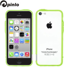 Pinlo Bladedge Bumper Case for iPhone 5C - Green Transparent