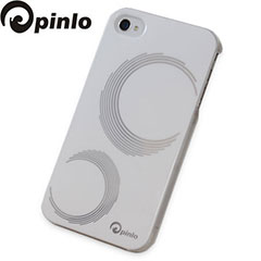 Pinlo Concize Craft Case for iPhone 4S/4 - White