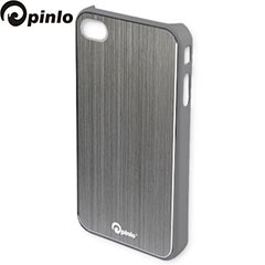 Pinlo Concize Metal Case for iPhone 4S/4 - Grey