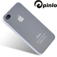 Pinlo Slice 3 Case for iPhone 4S - Clear