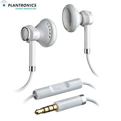 Plantronics BackBeat 116 Stereo Headphones with Mic - White
