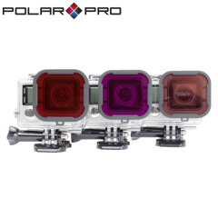 PolarPro GoPro Underwater Filter 3 Pack