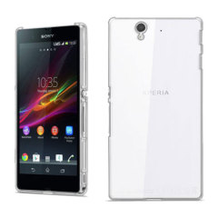 Polycarbonate Sony Xperia Z Shell Case - 100% Clear