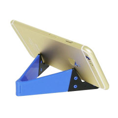 Portable Folding Smartphone Desk Stand - Blue