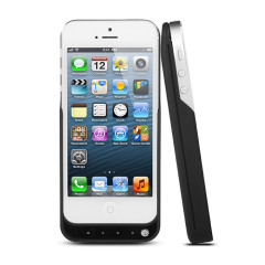 Power Jacket Case 2000mAh for iPhone 5 - Black