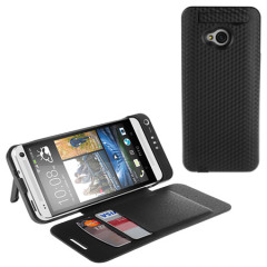 Power Jacket for HTC One M7 with Cover- 3800mAh