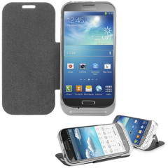 Power Jacket for Samsung Galaxy S4 with Cover- 3200mAh