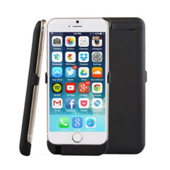Power Jacket iPhone 6 Case 3000mAh - Black