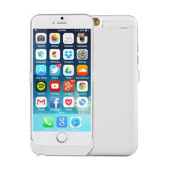 Power Jacket iPhone 6 Case 3000mAh - White