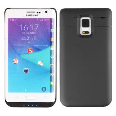 Power Jacket Samsung Galaxy Note Edge Battery Case 3800mAh - Black