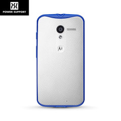 Power Support Air Jacket Grip Motorola Moto X Case - Blue