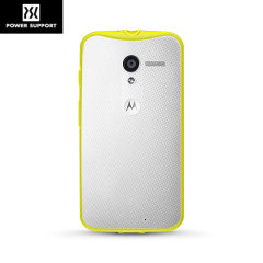 Power Support Air Jacket Grip Motorola Moto X Case - Lemon Lime