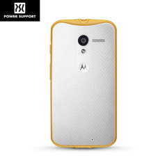 Power Support Air Jacket Grip Motorola Moto X Case - Orange