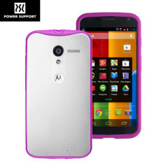 Power Support Air Jacket Grip Motorola Moto X Case - Violet