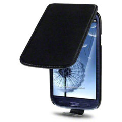 Pro-Tec Executive Leather Flip Case for Samsung Galaxy S3