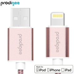 Prodigee Energee MFi Lightning Cable - Rose Gold