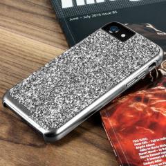 Prodigee Fancee iPhone 7 Glitter Case - Silver / Black