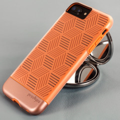 Prodigee Stencil iPhone 7 Plus Case - Rose / Rose Gold