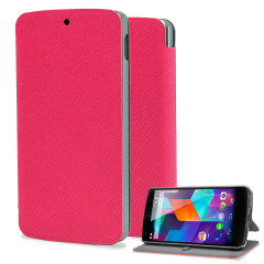 Pudini Stand Case for Nexus 5 - Pink