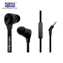 Purple Sound AD001 'Made For Android' Headphones - Black