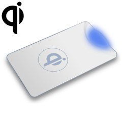 Qi Universal Wireless Charging Plate - White