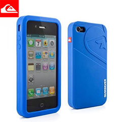 Quiksilver Silicone Case for iPhone 4 - Blue