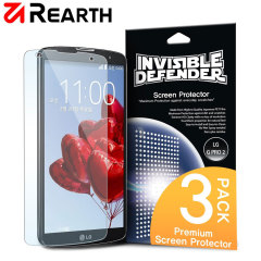 Rearth Invisible Defender 3 Pack LG G Pro 2 Screen Protector