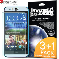 Rearth Invisible Defender HTC Desire EYE 3+1 Screen Protector Pack