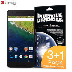 Rearth Invisible Defender Nexus 6P Screen Protector - 4 Pack
