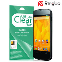 Rearth Ringbo Ultimate Clear Plus Screen/Back Protector for Nexus 4