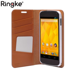 Rearth Ringke Discover Leather Diary Case for Google Nexus 4