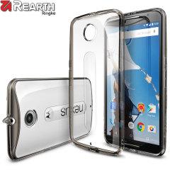 Rearth Ringke Fusion Google Nexus 6 Case - Smoke Black