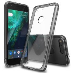 Rearth Ringke Fusion Google Pixel Case - Smoke Black