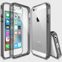Rearth Ringke Fusion iPhone SE Case - Smoke Black