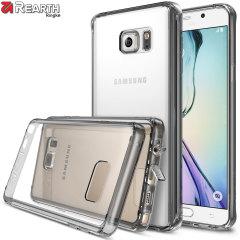 Rearth Ringke Fusion Samsung Galaxy Note 5 Case - Smoke Black