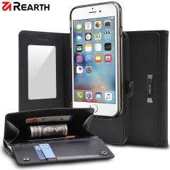 Rearth Ringke iPhone 6S Plus Leather-Style Wallet Case
