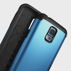 Rearth Ringke Samsung Galaxy S5 Heavy Duty Armor Case - Smooth Blue