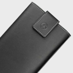 Redneck Genuine Leather Universal Smartphone Pouch L - Black