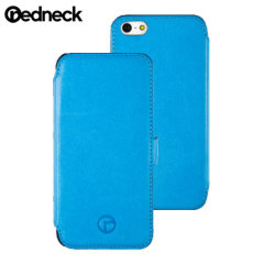 Redneck Seasonal iPhone 5S / 5 Leather Wallet Case - Blue