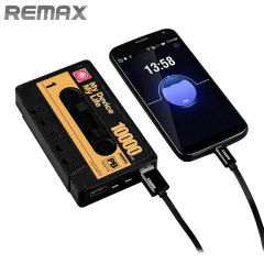 Remax Cassette Tape Dual USB 10,000mAh Power Bank