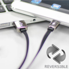 Remax Fully Reversible USB to Lightning Cable - Black