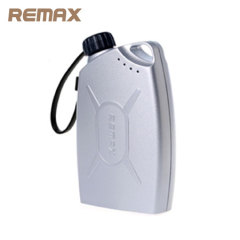 Remax Gas Station 10,000mAh Power Bank - Silver