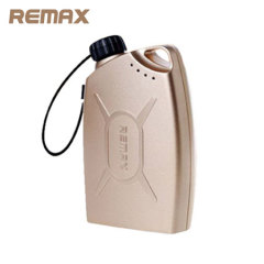 Remax Gas Station 6,600mAh Power Bank - Gold