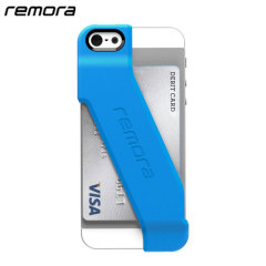Remora Wallet Case for iPhone 5S / 5 - Electric Blue